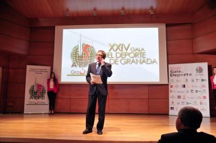 Jorge de la Chica, presentador de la Gala