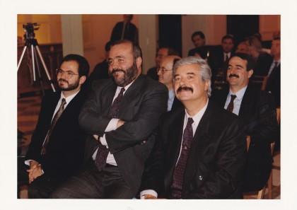 Jesús García junto a Javier Gómez Navarro