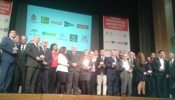 La FPDA entrega en Jaén los premios a los mejores del deporte andaluz en 2015