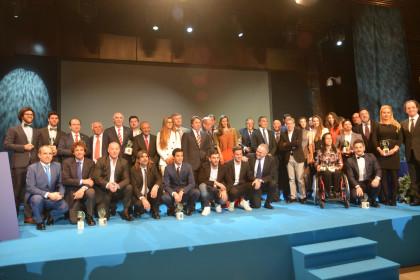 Brillante Gala Nacional del Deporte 2016 en Málaga e interesante Congreso de la AEPD