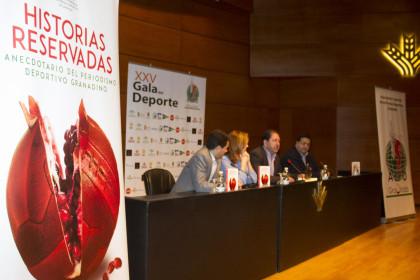 Presentación del libro 'Historias reservadas' en el Auditorio Caja Rural
