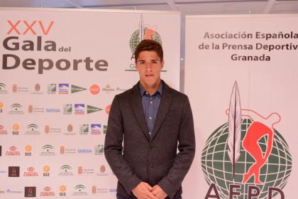 Antonio Marín, fútbolista y premiado como Mejor Promesa