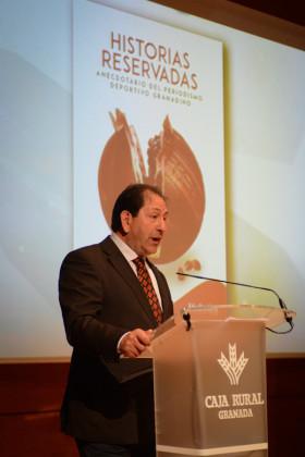 El presidente de la AEPD Granada, Antonio Rodríguez