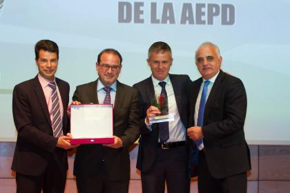 Federico Sánchez, Javier Jiménez, Lucas Alcaraz y Pedro Pablo San Martín