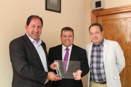 Antonio Rodríguez, Aurelio Ureña y Antonio Barragán.