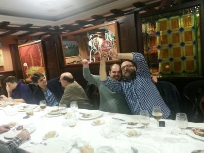 Bujalance y Morales celebran no ganar nada en el sorteo