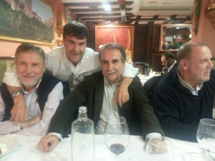 Juan Torres, Ismael Abad y Julio García