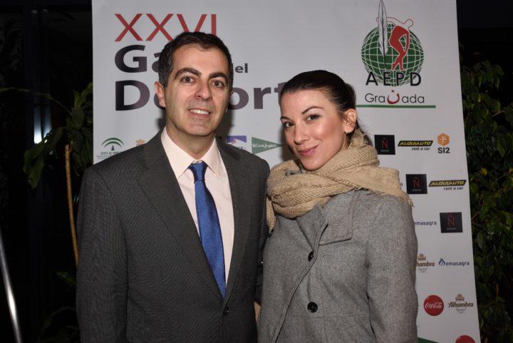 Julio Piñero y María Souan