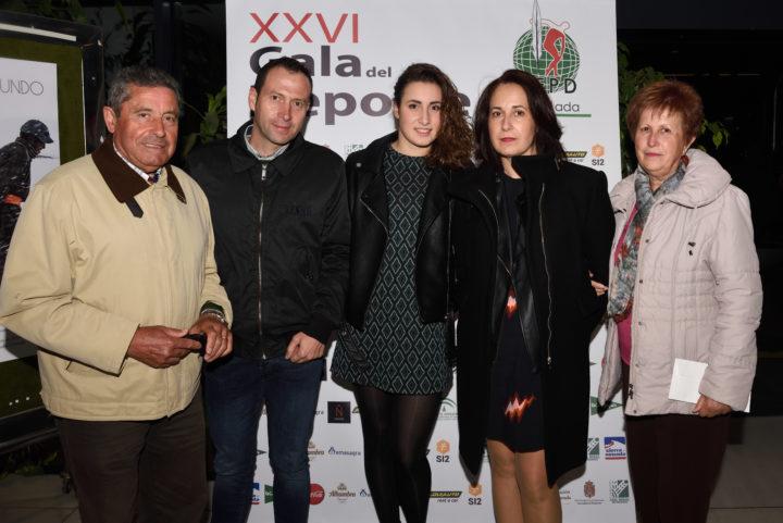 Marta Garzón y sus familiares