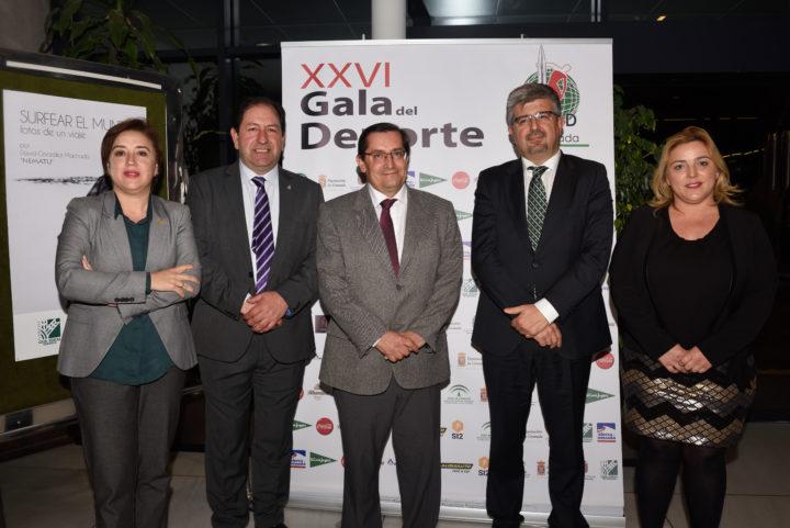 Sandra García, Antonio Rodríguez, José Entrena, José Aurelio Hernández, y Purificación López