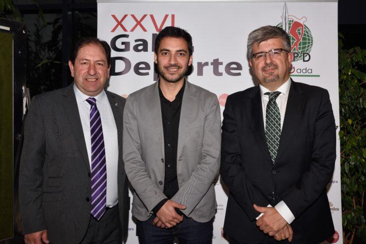 Antonio Rodríguez, Eduardo Castillo y José Aurelio Hernández