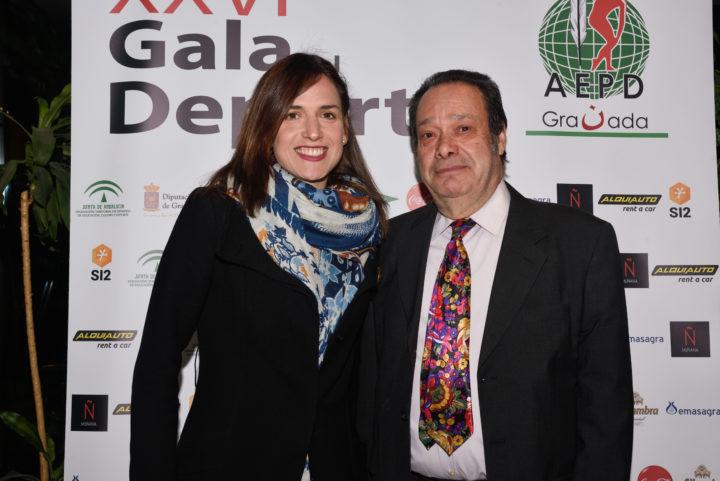 Alhambra Nievas y Antonio Barragán