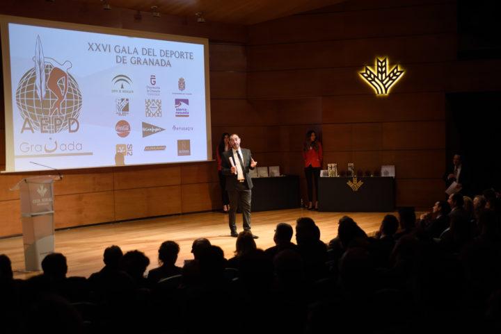 Javier Fernández-Rufete, en la presentación inicial de la Gala del Deporte