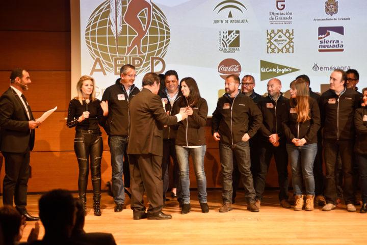 Reconocimiento al trabajo desarrollado por el equipo de trabajo de Sierra Nevada 2017