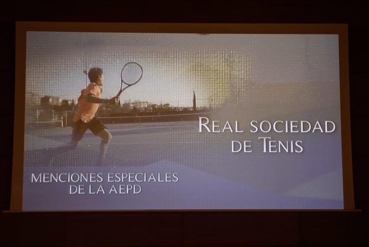 Mención a la Real Sociedad de Tenis de Granada
