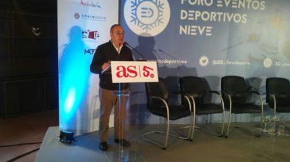El director del diario AS, Alfredo Relaño, abre la jornada dedicada al Mundial 2017
