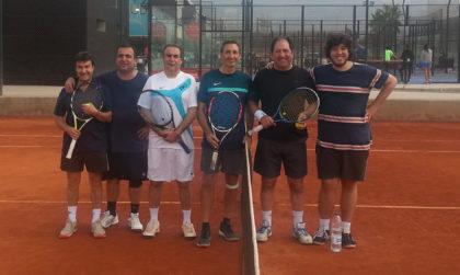 Rodríguez y Romero se imponen en la primera edición del Torneo Campus Tenis-AEPD