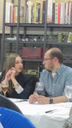 Noelia Gómez y Fermín Rodríguez ¿hablando de... baloncesto?