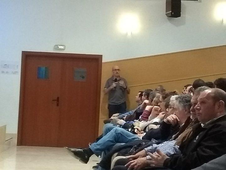 Jordi Ribera se mostró muy cercano a los asistentes