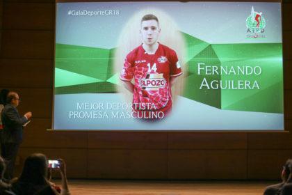 Fernando Aguilera no pudo estar y dejó grabado un vídeo