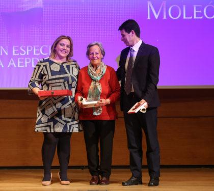 Purificación López, Pilar Moleón y Federico Sánchez