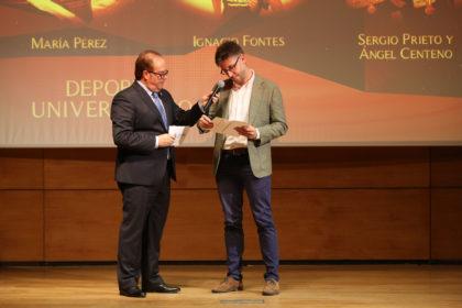 A Jordi Mercadé le tocó 'decidir' el Mejor Deportista Universitario