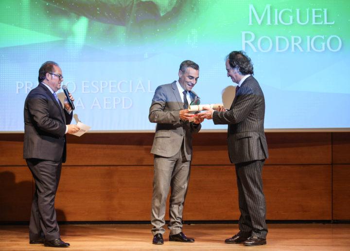 Miguel Rodrigo, Premio Especial de la AEPD Granada