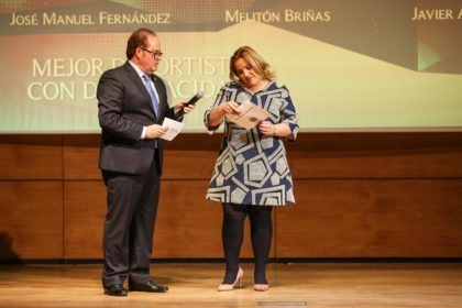 Purificación López descubre al Mejor Deportista con Discapacidad