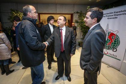 Pablo Quílez y Julio Piñero reciben a Quique Gutiérrez