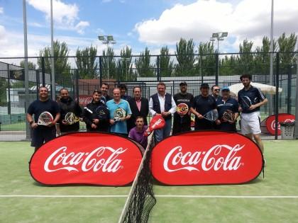 El Trofeo Coca Cola-O2 de pádel, mañana