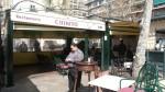 La terraza del restaurante Chikito, lugar de la presentación