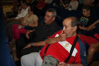 Antonio Álvarez, entre los asistentes al acto