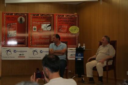 Rodríguez y Marsá, atentos a los comentarios de los invitados a la mesa del debate