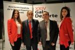 El gerente del diario Granada Hoy, Francisco Donaire, y el secretario de la AEPD Granada, Pablo Quílez