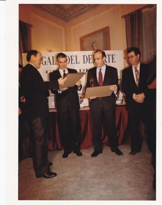 Los nominados a los mejores clubes: Avila Rojas, La General y Huétor Tájar.