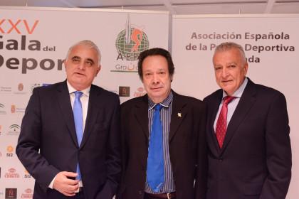 Pedro Pablo San Martín, Antonio Barragán y Osvaldo Menéndez