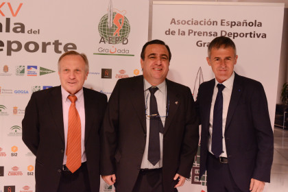 Antonio Gómez Nieto, Pablo Quílez y Lucas Alcaraz