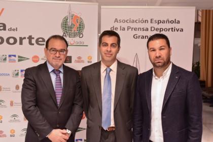 Javier Jiménez, Julio Piñero y Juan Carlos Cordero