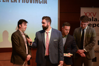 El alcalde de Churriana, Antonio Narváez, habló del apoyo municipal al deporte en su pueblo