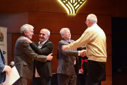 Andrés Navarro, Aurelio Sánchez, José Antonio Murado y Arturo Corts