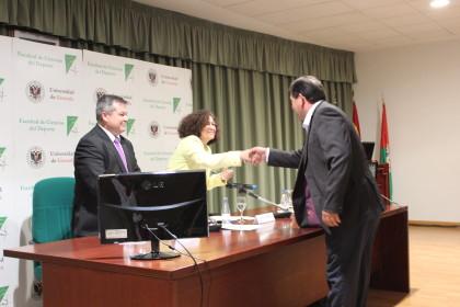 Reconocimiento en la Facultad de Ciencias del Deporte de la Universidad de Granada