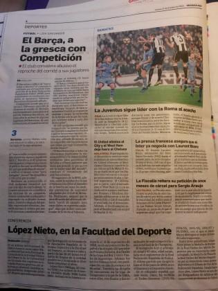 Diario Granada Hoy, previa