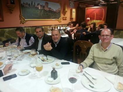 Juan Torres, Julio García, José Manuel Luque y José Velasco