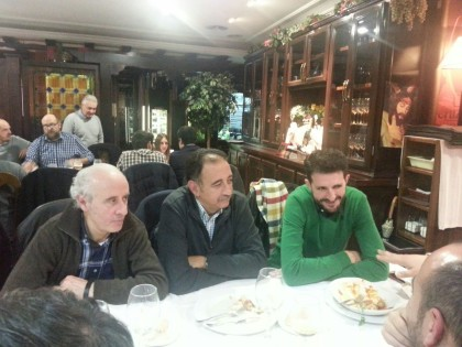 Gerardo Girón, Pepe Maldonado y Enrique Árbol