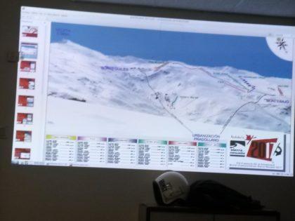 Planos de las pistas de Sierra Nevada en las que se desarrollará el Mundia de Freestyle y Snowboard