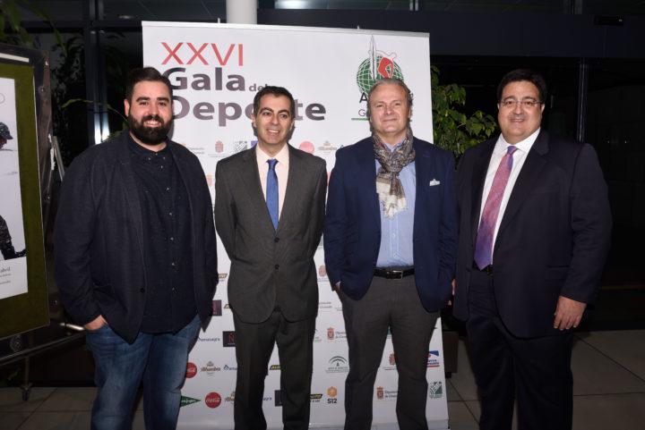 Fran Viñuela, Julio Piñero, JUsto Ruiz y Juan José Fernández