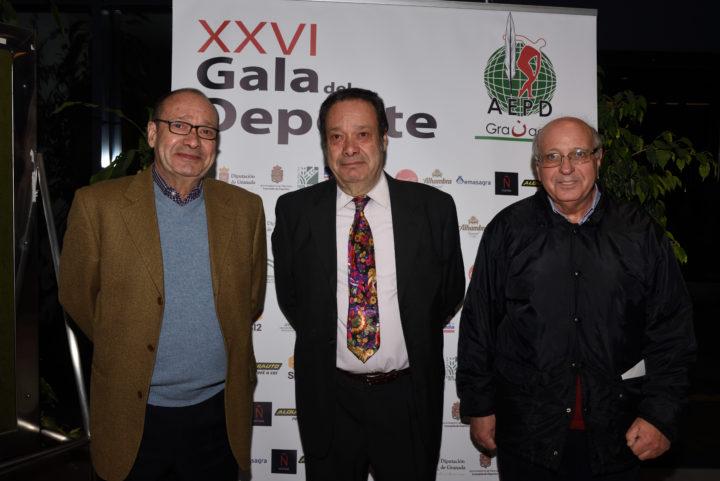 Los Barragán, José Luis y Antonio, y su inseparable Javier Lacarcel