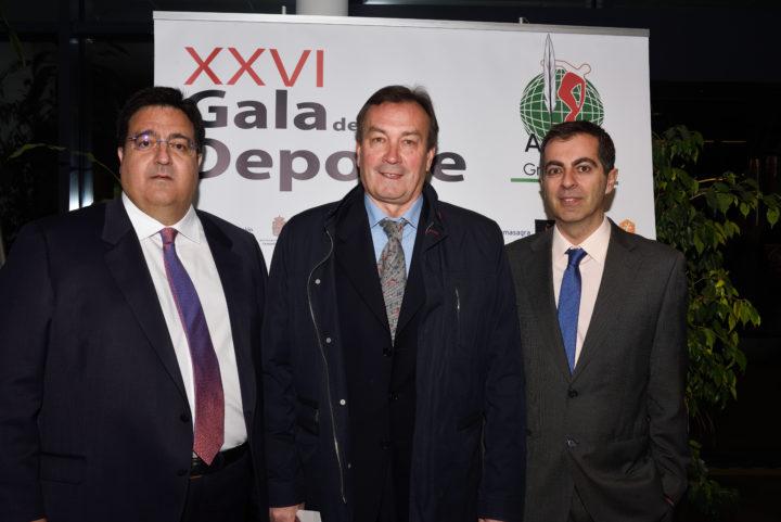 Juan José Fernández, Vladimir Choubine y Julio Piñero