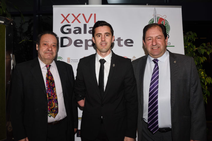 Antonio Barragán, José Manuel Ruiz y Antonio Rodríguez