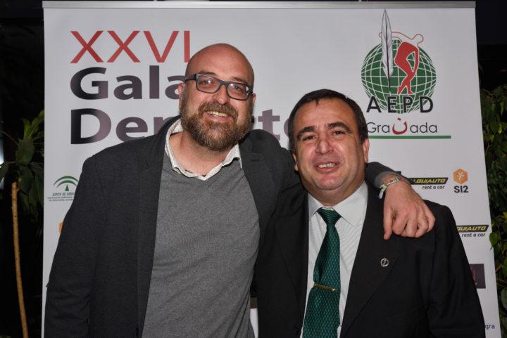 Los periodistas Alejandro Morales y Pablo Quílez